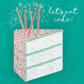 Happy Cake Day Beverage Napkins -16ct