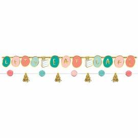Happy Cake Day Banner Kit - 2ct