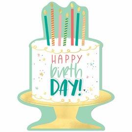Happy Cake Day Cardboard Sign