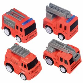First Responders Fire Truck Favor Pack -4ct