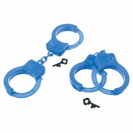 First Responders Plastic Handcuff Favor Pack -4ct