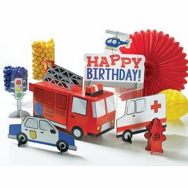 First Responders Table Centerpiece Decorating Kit