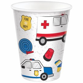 First Responders Cups, 9 oz. -8ct
