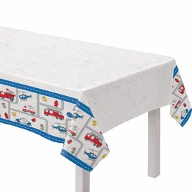 First Responders Plastic Table Cover