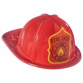 First Responders Plastic Fireman Hat