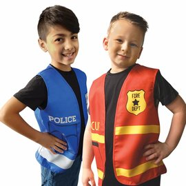 First Responders Assorted Vests -4ct