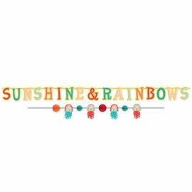 Retro Rainbow Banner Kit