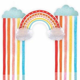 Retro Rainbow Hanging Decorating Kit