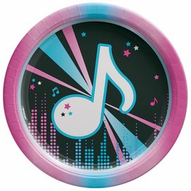 "Internet Famous 9"" Round Plates -8ct"