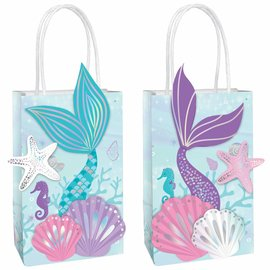 Shimmering Mermaids Create Your Own Bags -8ct