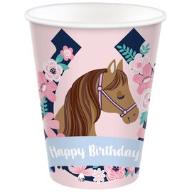 Saddle Up 9 oz. Cup -8ct