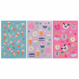 Cute Animals Value Pack Stickers -12ct