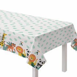 Get Wild Birthday Plastic Table Cover