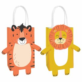 Get Wild Birthday Create Your Own Bags -8ct