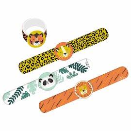 Get Wild Birthday Slap Bracelet -4ct
