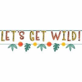 Get Wild Birthday Banner Kit