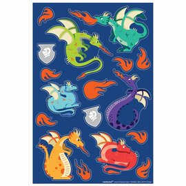 Dragon Sticker Sheets -3ct