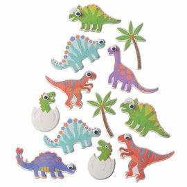 Dinosaur Puffy Stickers