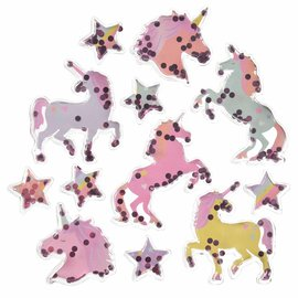 Unicorn Shaker Stickers
