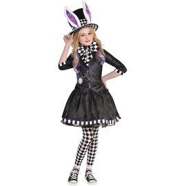 Girl's Dark Mad Hatter