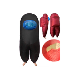 SUS Crew (Among Us) Inflatable Child One Size BLACK (#430)