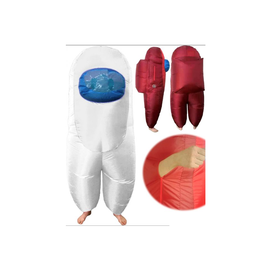 SUS Crew (Among Us) Inflatable Child One Size WHITE (#430)
