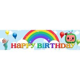 Melon Birthday Banner