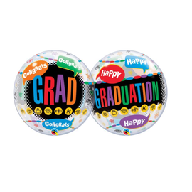 """22"""" Happy Grad Congrats Bubble"""
