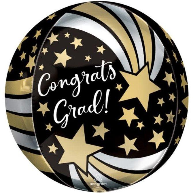 """16"""" Congrats Grad Shooting Stars"""