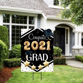 Class of 2021 Grad Yard Sign