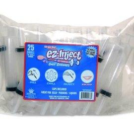 EZ Inject 1oz  Jello Syringe - 25ct