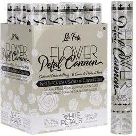 """Flower Petal Cannon - 12"""" White"""