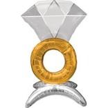 Air Filled Sitting Wedding Ring
