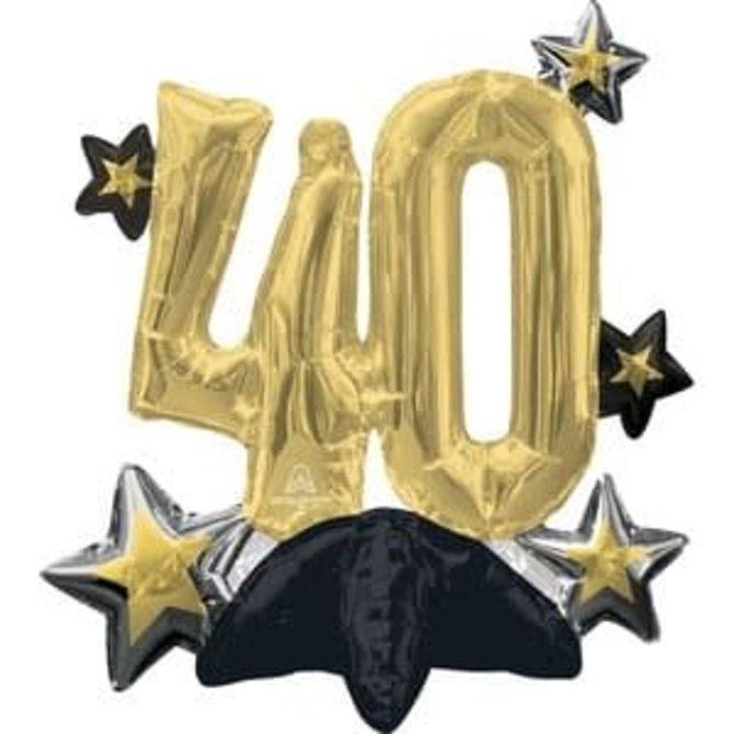 Air Filled Celebrate 40