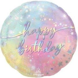 """Luminous Birthday Balloon - 18"""""""