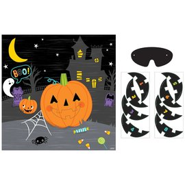 Halloween Pin The Smile Game