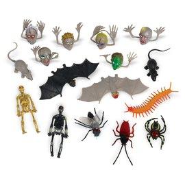 Halloween Creepy Crawly Plastic Super Mega Mix Favors
