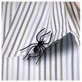 Clip On Plastic Spider -24ct