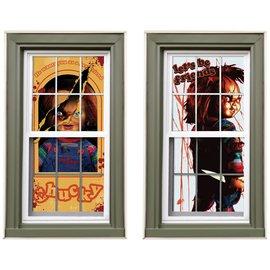 Child's Play Chucky Window Slhouettes