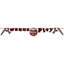 Child's Play Chucky Banner