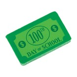 100th Day of School $100 Eraser Favors