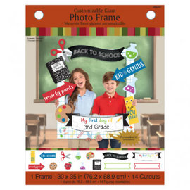 Back To School Customizable Giant Photo Frame