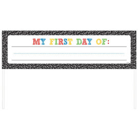 Back to School Roll Up Personalized Banner