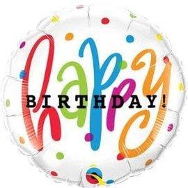 "Happy Birthday Dots - 18"""