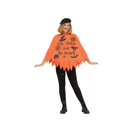 Eat, Drink Be Scary Poncho