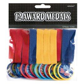 Assorted Award Medals