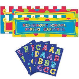"""Giant Personalized Banner Kit-65"""" x 20"""""""