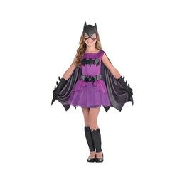 Girls Purple Batgirl Costume - Batman -Medium