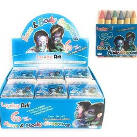 Body Crayons - Pearl 6ct