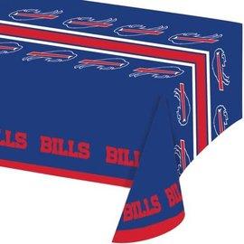 Buffalo Bills All over print plastic Tablecover 54x102